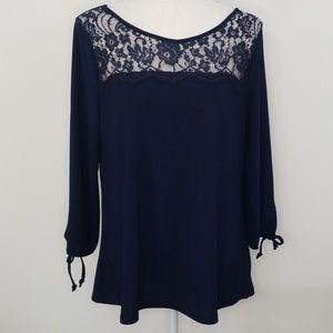 Verve ami lace blouse size medium NWT